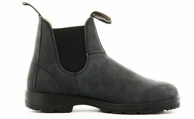 Blundstone 587 Booties Black Leather Elastic Boots Shoes Boots Da 37 A 45