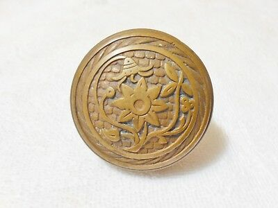 Vintage Ornate Brass Door Knob, Great For Walking Stick #1