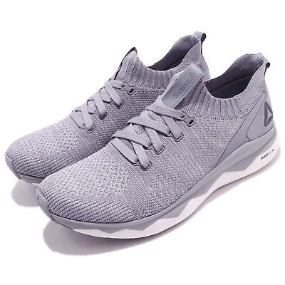 4988736cd Reebok Floatride RS ULTK UltraKnit Grey Shadow White Men Running Shoes  CM8756