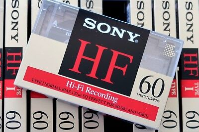 Sony Hf 60 Premium Normal Position Type I Blank Audio Cassette - 1992