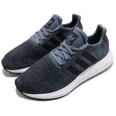 bb028f0a697a1a adidas Swift Run Raw Steel Navy Black Men Running Shoes Sneakers CQ2120