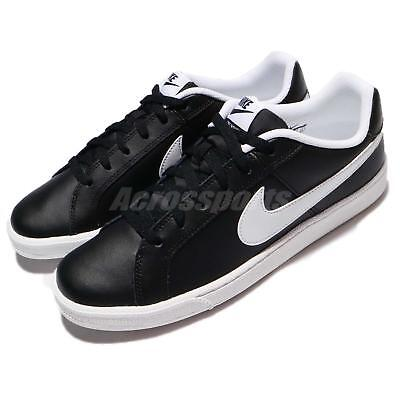 1ae8a27fe822 Nike Court Royale Black White Tennis Inspired Men Casual Shoes 749747-010