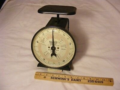 >> Antique Hanson Postal Scale  1946 patent Date , Very Good Condition