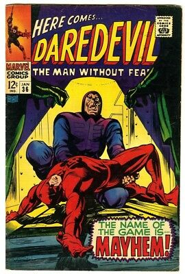 Daredevil #36 (1968) Fine+ New Marvel Silver Bronze Collection