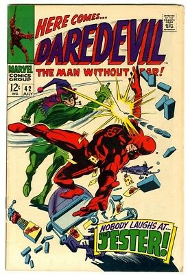 Daredevil #42 (1968) Fine+ New Marvel Silver Bronze Collection