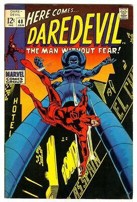 Daredevil #48 (1969) VF- New Marvel Silver Bronze Collection