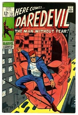Daredevil #51 (1969) VF+ New Marvel Silver Bronze Collection