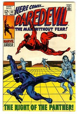 Daredevil #52 (1969) VF+ New Marvel Silver Bronze Collection