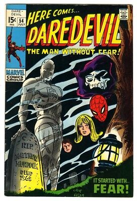 Daredevil #54 (1969) VF New Marvel Silver Bronze Collection