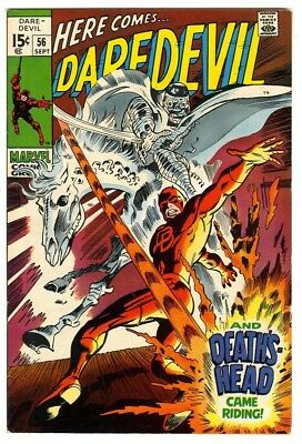 Daredevil #56 (1969) VF New Marvel Silver Bronze Collection