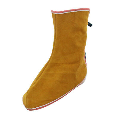 1 Pair Leather Welding Spats Welding Protective Shoes Feet Cover Welder