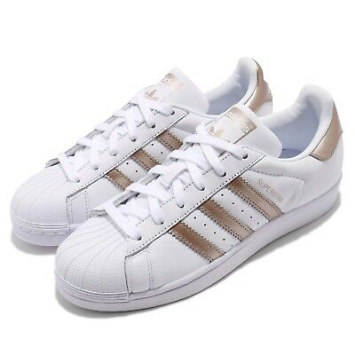 adidas Originals Superstar W White Rose Gold Women Classic Shoes Sneakers  CG5463 c4599d71c3
