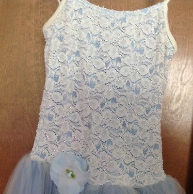 GIrl's Large Ballet Costume/tutu Light Blue