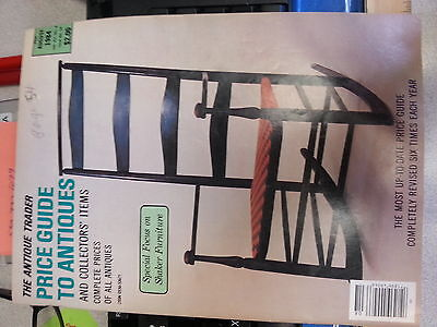 The Antique Trader Price Guide To Antiques Magazine August 1986 Issue