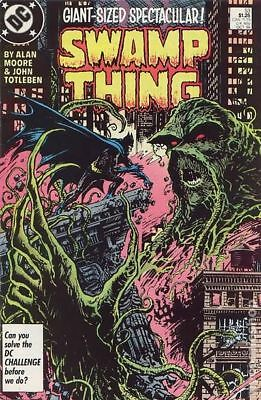 Swamp Thing (2nd Series) #53 1986 VF Stock Image