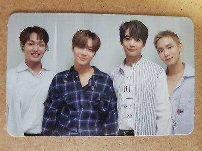 SHINee GROUP #2 Authentic Official PHOTOCARD THE STORY OF LIGHT EPILOGUE Vol. 6