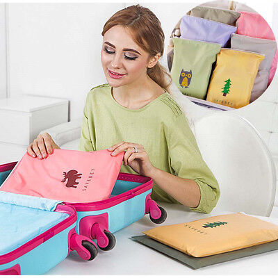 Portable Water Resistant Travel Storage Bags Organizer For Clothes Shoes Socks
