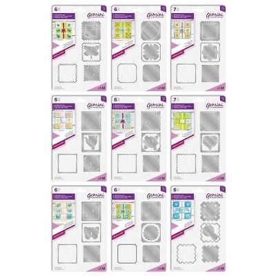 Crafters Companion - Gemini - Patchwork Dies - FREE UK P&P