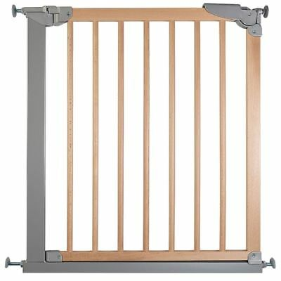 Safetots Wide Walkthrough Wooden Childrens Gate Pressure Stair Gate 69.1-75.8cm