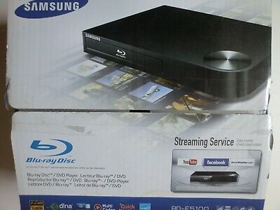 Samsung BD-F5100 Blu-ray Disc DVD Player, HDMI, USB, LAN