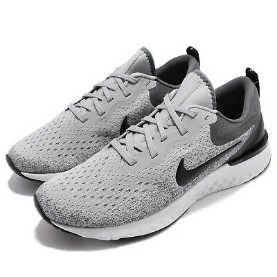 a8f1c90934e NIKE ODYSSEY REACT Wolf Grey Black Men Running Shoes Sneakers AO9819 ...