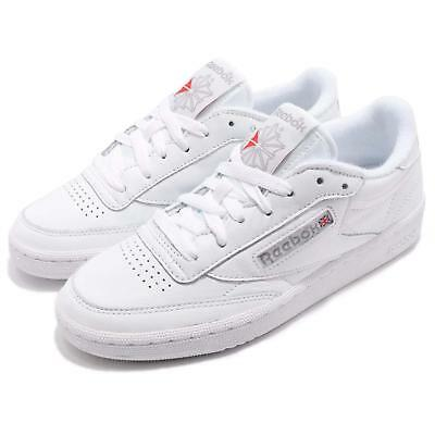 54bbbc6642d Reebok Classic Club C 85 Archive White Excellent Red Women Shoes Sneakers  CN0907