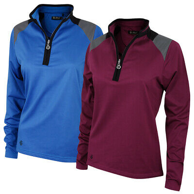 Island Green Womens Golf Thermal Quick Drying Mid Layer Top 37% OFF RRP
