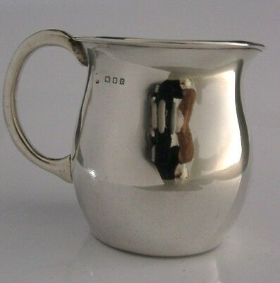 Arts And Crafts Solid Silver Cream Jug 1929 Antique Charles Boyton