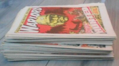 lot of 28 WARLORD COMICS , 1978 ,  # 172 TO 199 .