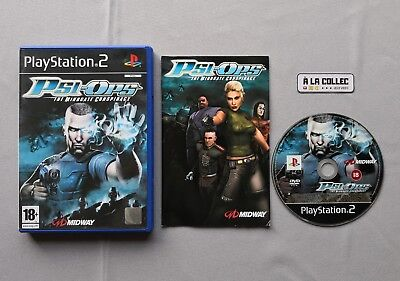 Psi-Ops The Mindgate Conspiracy | Jeu Sony PS2 en VF | Version PAL