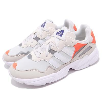 size 40 11fb5 2d8ee adidas Originals Yung-96 White Orange Men Running Daddy Shoes Sneakers  F97179