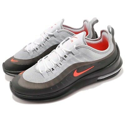 15940e33f24909 Nike Air Max Axis Wolf Grey Crimson Black Men Running Shoes Sneakers AA2146 -001