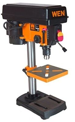 """8"""" Drill Press Benchtop 1/3 HP Bench Top Adjustable Table 5 Speed WEN 4208"""