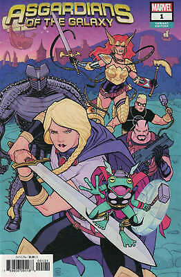 Asgardians of the Galaxy #1 1:50 Cliff Chiang Variant Marvel 2018