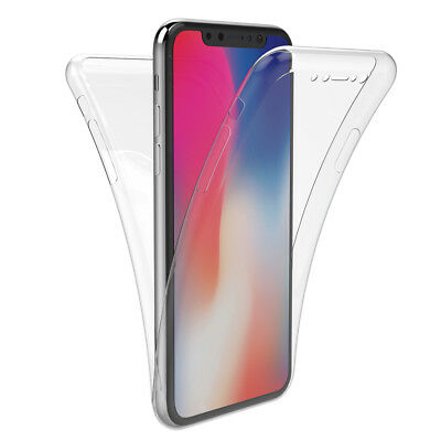 Housse Etui Coque 360 Silicone Integrale Apple Iphone X / Xs / Xr / Xs Max