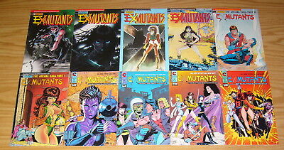Ex-Mutants: the Shattered Earth Chronicles #1-15 VF/NM complete series + (2)more