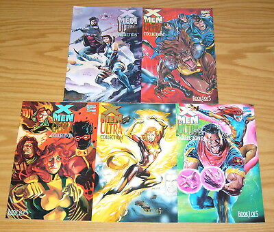 X-Men: the Ultra Collection #1-5 VF/NM complete series marvel comics set lot 2 3