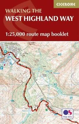 West Highland Way Map Booklet 1:25,000 OS Route Mapping 9781852848989