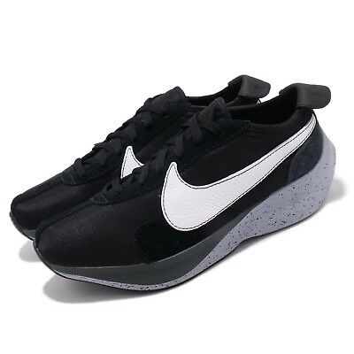Nike Moon Racer Black White Grey Mens Running Shoes Sneakers AQ4121-001