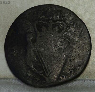1782 Ireland 1/2 Penny *Free S/H After 1st Item*