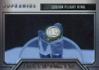 Supergirl Season 1 Artifacts Chase Card A6 Legion Flight Ring