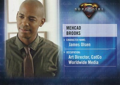 Supergirl Season 1 Character Chase Card CB4 Mehcad Brooks as James Olsen