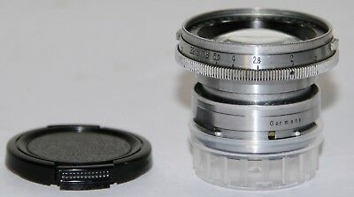 Carl Zeiss Jena Sonnar 5cm f/2 For Contax 35mm Rangefinder Cameras Germany 1937
