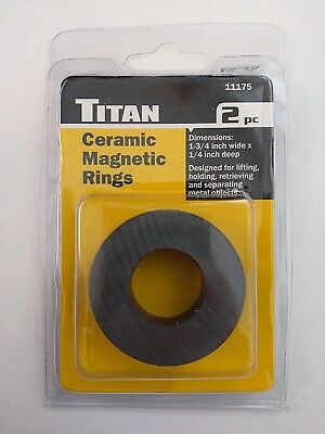 Titan 11175 Ceramic Magnetic Rings 2pc