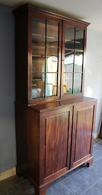 Very Good Quality Original Georgian Mahogany  Library  Bookcase