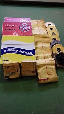 Collection of Vintage 8 mm Film Content Unknown