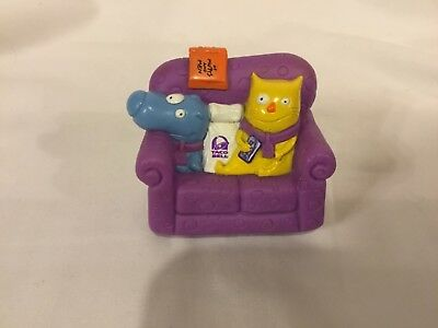1995 Taco Bell Toy Nacho and Dog Rolling Couch Of Mutts and Men