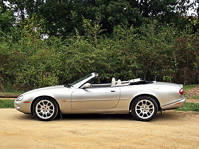 1999 Jaguar Xkr 4.0 Supercharged 370 Bhp Convertible Private Plate Wood Pack Xk8