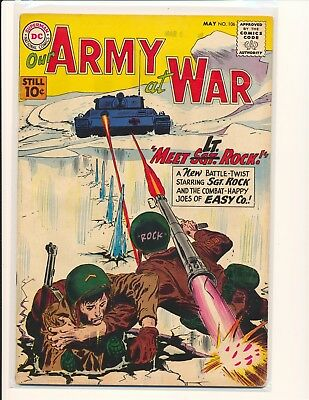 Our Army At War # 106 G/VG Cond.