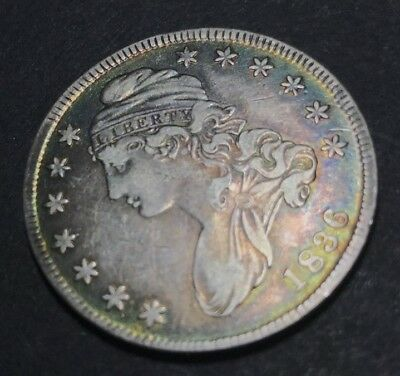 Very Nice - 1836 Capped Bust Silver Half Dollar